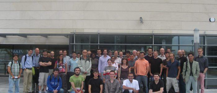 Encuentro del Harmonic Analysis and PDEs Workshop celebrado en septiembre de 2010 en el ICMAT